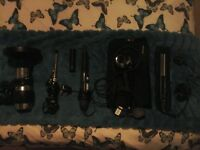 remmington hair curler, hair dryer, curling tongs, hot curling brush