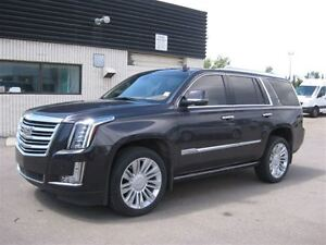 2015 Cadillac Escalade Platinum-4X4-Leather-NAV-Sunroof-DVD-Full
