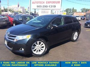 2013 Toyota Venza Premium AWD Leather/Pano Sunroof&GPS