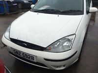 2002 Ford Focus, 1.8 Diesel, Breaking for parts only, All parts available