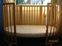 Stokke Sleepi Cot Bed - Natural Colour