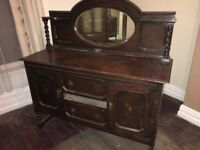 Large Antique Dressing Table