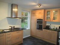 Neff double oven, gas hob and extractor fan