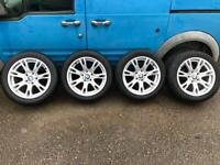"""Bmw 17"""" genuine alloy wheels"""