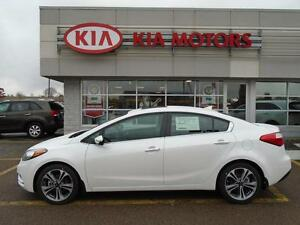 2016 Kia Forte EX with SUNROOF, ONLY $57 WEEKLY NEW VEHICLE