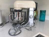 Kenwood K-mix stand mixer in cream