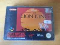 SNES Super Nintendo Lion King with manual & protective sleeve