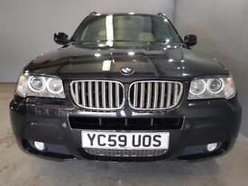 BMW X3 xDrive20d Limited Sport Edition 5dr Step Auto (black) 2009