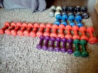 Selection of Dumbells