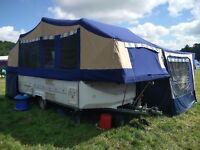 Conway Crusader 1999 6 berth Folding Camper with Awning