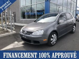 2008 Volkswagen Rabbit Trendline **35$/SEM*FINANCEMENT 100% APPR