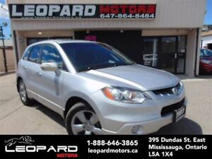 2007 Acura RDX Navigation,Camera,Sunroof*No Accident*