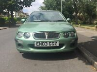 Automatic rover 25 IL STEPSPEED FOR SALE, very low mileage, 2 FORMER KEEPRS, VERY LONG MOT.