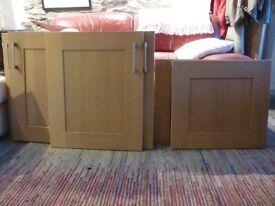 Wooden kitchen doors