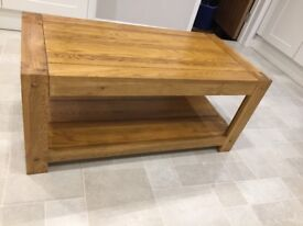 CHEAP- Solid Oak Coffee Table