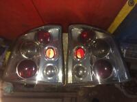Vauxhall Vectra Rear Lights chrome