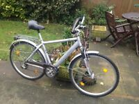 GENTS MOUNTAIN BIKE (MADE IN GERMANY) *** A REALLY GOOD BIKE *** 21 GEARS (RIDES EXCELLENT)