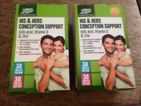 His & hers conception support