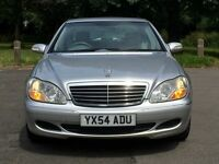 Mercedes Benz S280 Automatic, 2 YEAR WARRANTY, SAT NAV, S Class not BMW, LEXUS, AUDI, FORD