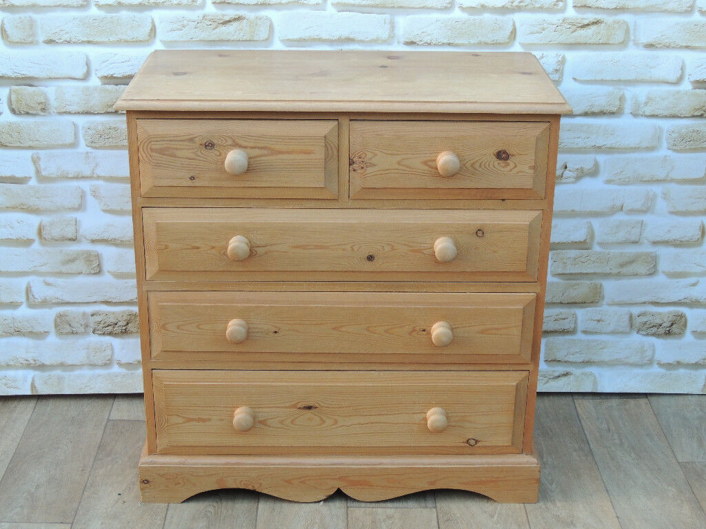 Country Welsh Pine Wooden chest (Delivery)