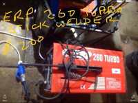 ERP stick Welder 260 Turbo with rods and masks