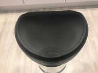 Curver Deco Push Bin - 40L - Silver - FREE