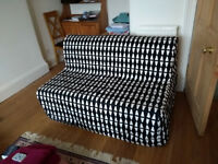 Ikea double sofa bed (4 months old, hardly used - won't fit in new house)