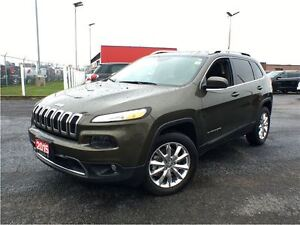 2015 Jeep Cherokee LIMITED**LEATHER**NAVIGATION**BACK UP CAMERA*