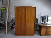 Matching wardrobe and dressing table for sale