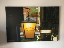 Venetian Lamp Canvas Picture