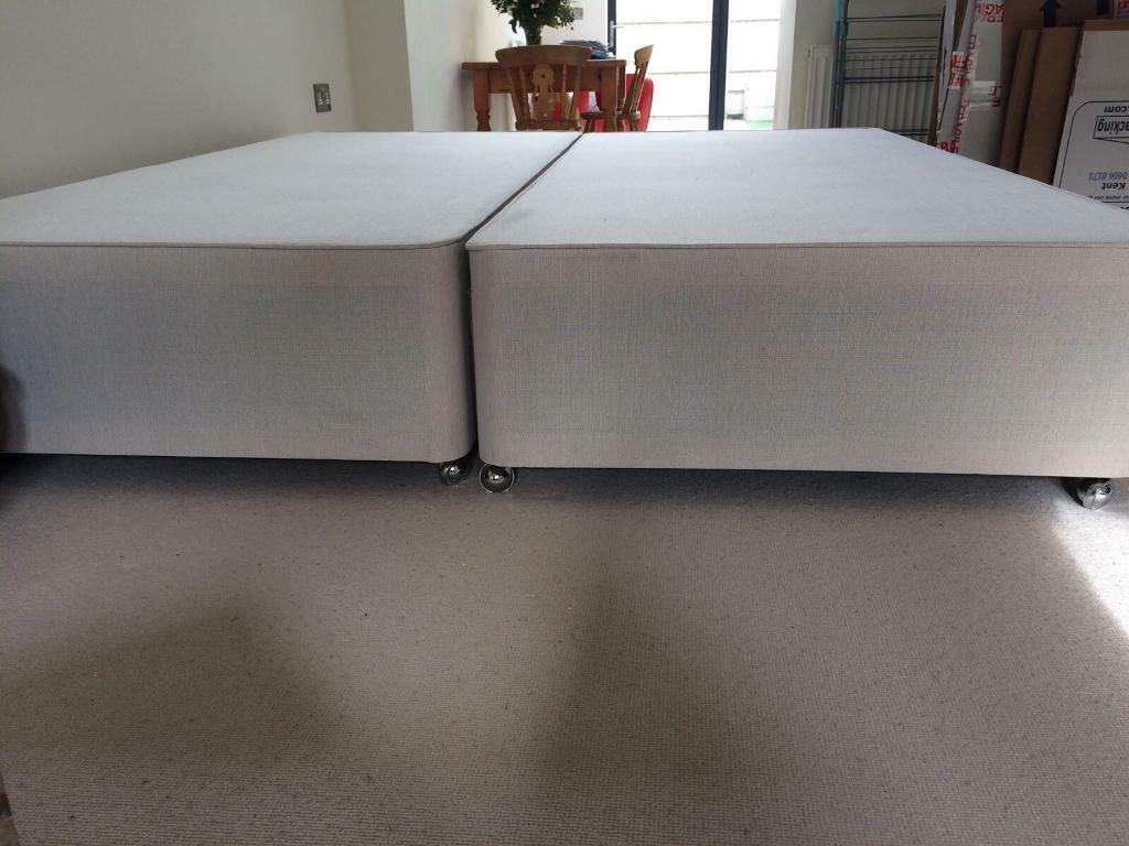 Super King Size John Lewis Divan Bed Base Only