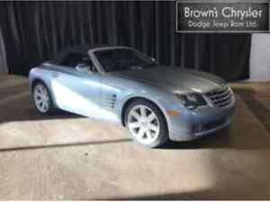 2005 Chrysler Crossfire Convertible 3.2 V6 Auto / Heated Leather