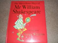 The Marvellous Works of William Shakespeare presented by Marcia Williams in comic-strip style
