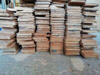 GORGEOUS SOLID OAK JUNKERS RECLAIMED FLOORING Approx 48 sq metres. High quality.