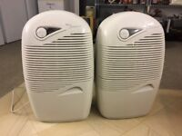 Two Dehumidifier for sale