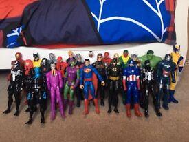 Avenger villain and superhero figures