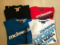 4 x Mens McKenzie T-Shirts Small