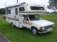 TOYOTA MOTORHOME CAMPERVAN LHD , 4 BERTH , Only 79 k , Very Rare ! , Imported from USA Florida