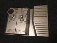 Zoom 606 multi-effects guitar FX pedal