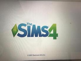 Sims 4 with expansion,game and stuff packs