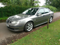 2006 SAAB 9-3 VECTOR 1.9 DIESEL MANUAL - 4 DOOR SALOON - METALLIC GREY