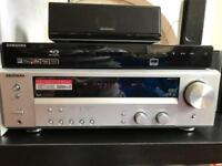 KENWOOD HOME THEATRE KRF-V6100D & SAMSUNG BD-P1580 BLU-RAY DISC PLAYER