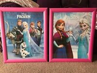 Large frozen framed prints