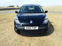 12 PLATE RENAULT CLIO DIESEL EXPRESSION PLUS 1.5 DCI 5DR IN BLACK (1 OWNER)