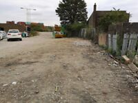 **RARE LAND/YARD FOR STORAGE/CONTAINERS/CARS TO RENT** BARKING IG8 NR DOCKLANDS, STRATFORD, ILFORD