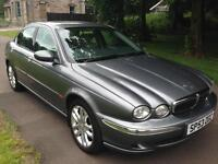 JAGUAR X-TYPE 2.0 V6 4dr (grey) 2003