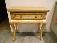 Hall Sideboard / with drawer light oak
