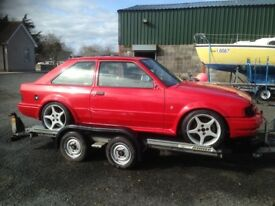 1987 RS Turbo Ford Escort