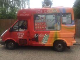Whitby Morrison soft Ice cream van carpigiani icecream machine
