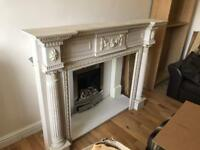 Fire place frame